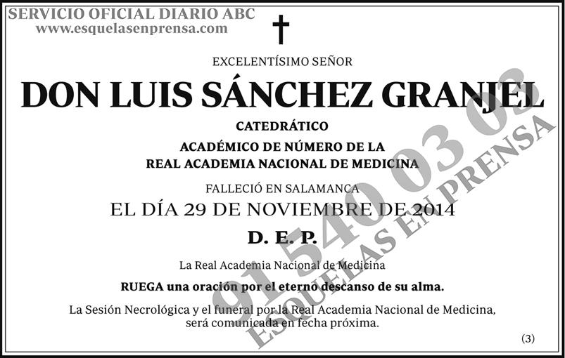 Luis Sánchez Granjel